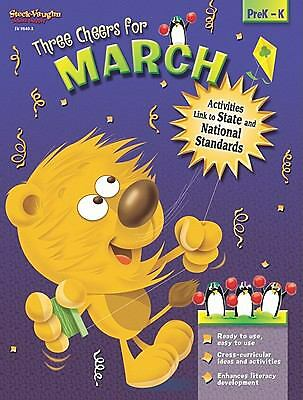 Three Cheers for?!: Reproducible March, STECK-VAUGHN, Good Book