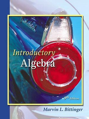 Introductory Algebra, Marvin L. Penna Judith A./ Bittinger, Good Book