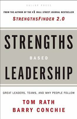 Strengths-Based Leadership, Tom Rath, Barry Conchie, Good Book