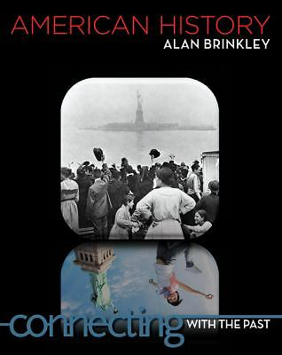 American History: Connecting with the Past, Brinkley, Alan, Good Book