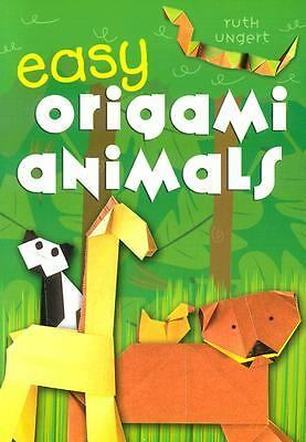 Easy Origami Animals, Ungert, Ruth, Good Book