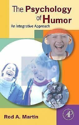The Psychology of Humor: An Integrative Approach, Martin, Rod A., Good Book