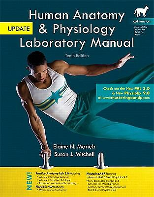 Human Anatomy & Physiology Laboratory Manual, Cat Version, Update Plus Mastering