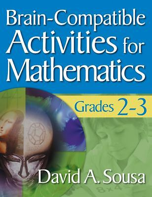 Brain-Compatible Activities for Mathematics, Grades 2-3, , Good Book