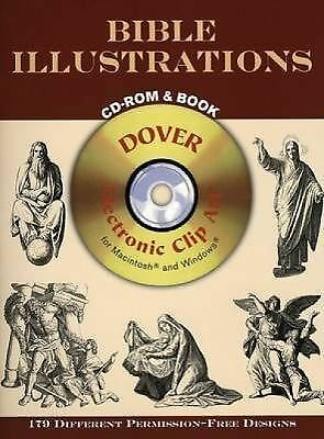 Bible Illustrations (Book & CD-ROM), Dover Publications Inc, Good Book