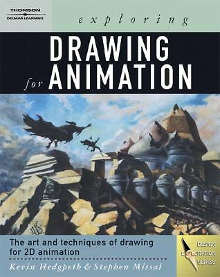 Exploring Drawing for Animation (Design Concepts), Missal, Stephen, Good Book