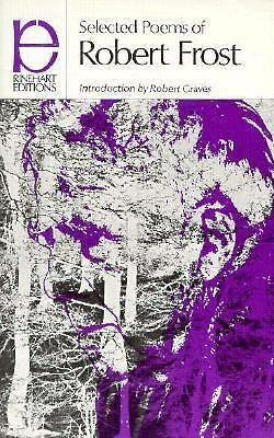 SELECTED POEMS OF ROBERT FROST a Rinehart editions paperback