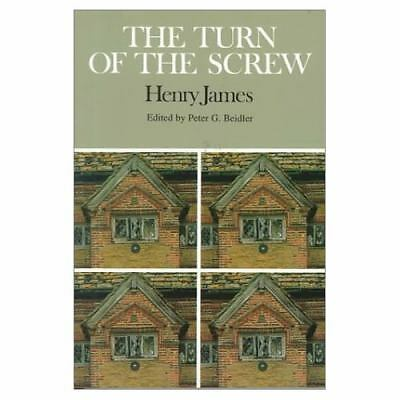 THE TURN OF THE SCREW by Henry James a Bedford Book