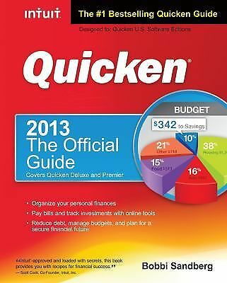 QUICKEN 2013 THE OFFICIAL GUIDE covers deluxe & premiere