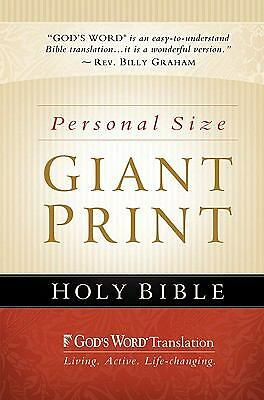 GW Personal Size Giant Print Bible, Baker Publishing Group, Good Book