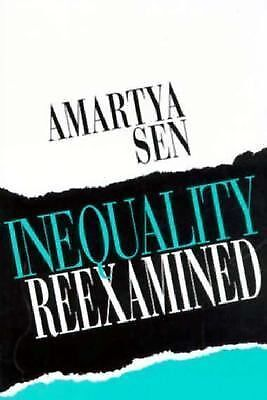 Inequality Reexamined, Sen, Amartya, Good Book