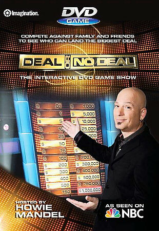 Deal or No Deal DVD Game  New!! Sealed!!    DVD   Great for Game Night