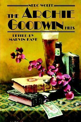 Nero Wolfe: The Archie Goodwin Files, Marvin Kaye, Good Book