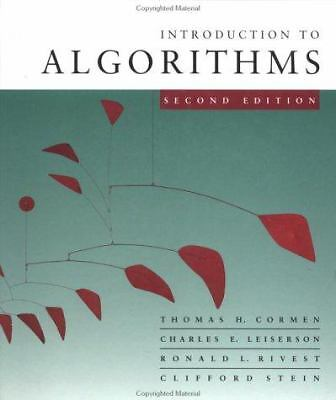 Introduction to Algorithms, Second Edition, Stein, Clifford, Rivest, Ronald L, L