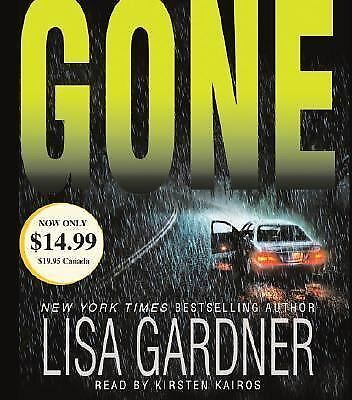 GONE audiobook   brand new by Lisa Gardner