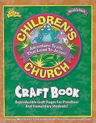 Children's Church Craft Book: Reproducible Craft Pages for Preschool and Element