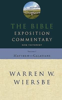 Bible Exposition Commentary Vol. 1, Warren W. Wiersbe, Good Book