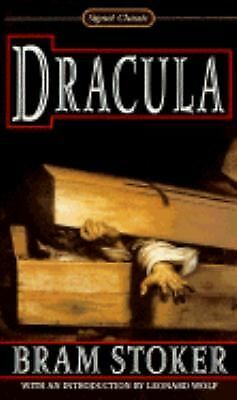 DRACULA  by Bram Stoker   a Signet Classic paperback
