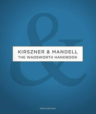 The Wadsworth Handbook, Laurie G. Kirszner, Stephen R. Mandell, New Book