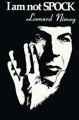 I Am Not Spock, Leonard Nimoy, Good Book