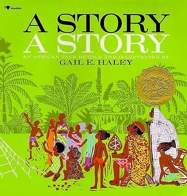 A Story, a Story, Haley, Gail E., Good Book