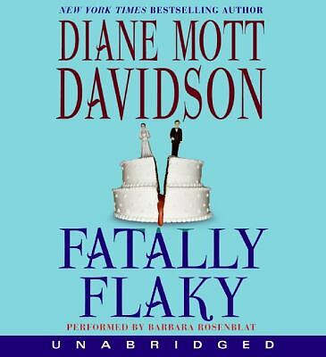Fatally Flaky (Goldy Culinary Mysteries), Davidson, Diane Mott, Good Book