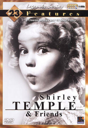 Legend Series: Shirley Temple and Friends New!! Sealed!!    DVD/Collectable Tin