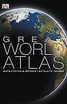 The Great World Atlas, DK, Good Book