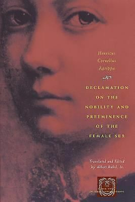 Declamation on the Nobility and Preeminence of the Female Sex (The Other Voice i