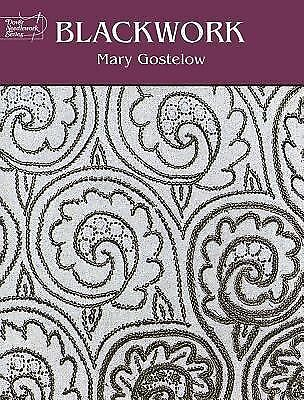 Blackwork (Dover Embroidery, Needlepoint), Gostelow, Mary, Very Good
