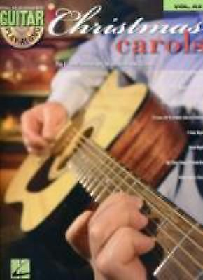 Christmas Carols Guitar Play-Along Vol. 62 (BK/CD), , Good Book