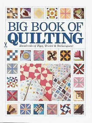 Big Book of Quilting: Hundreds of Tips, Tricks & Techniques, Kp Books, Good Book