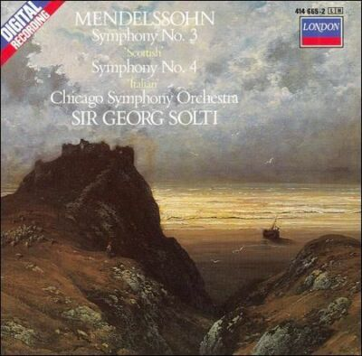 Mendelssohn: Symphony No. 3 'Scottish'; Symphony No. 4 'Italian' cd BRAND NEW