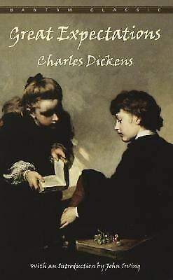 Bantam Classics: Great Expectations by Charles Dickens (1982, Paperback, Repr...