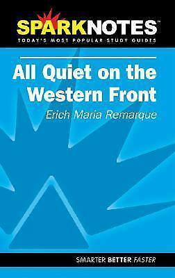 SparkNotes Literature Guide: All Quiet on the Western Front by Erich-Maria Re...