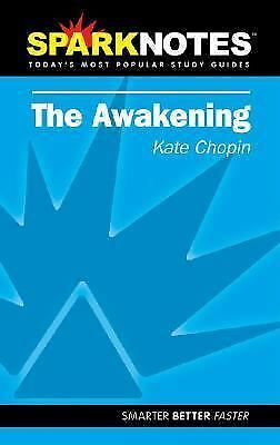 SPARKNOTES The Awakening by Kate Chopin (2002, Paperback)