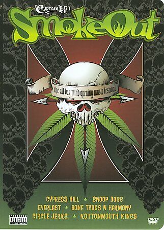 Cypress Hill Smoke Out(DVD, 2003) New!! Sealed!!
