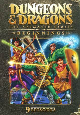 Dungeon's & Dragon's The Animated Series(DVD,2009)) New!! Sealed!!    Animation