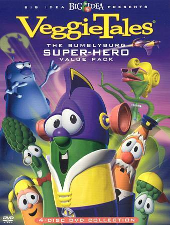 VeggieTales - The Bumblyburg Superhero Value 4-Pack