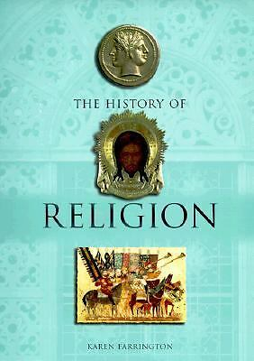 History of Religion by Karen Farrington (1999, Hardcover)