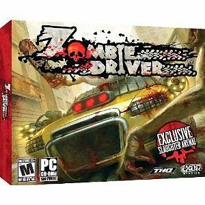 Zombie Driver (PC, 2009) New!!  XP/Vista/7
