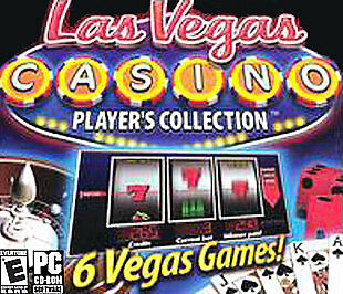 Las Vegas Casino: Player's Collection (PC, 2003) New!! Rated E