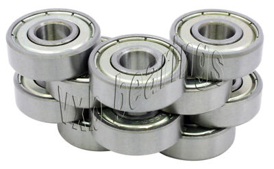 10 Balls Bearing 608ZZ 8mm/22mm/7 608Z Ball Bearings