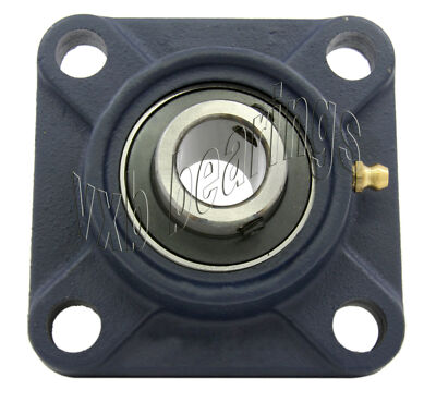 "1 3/8"" Mounted Bearing UCF207-22 + Square Flanged"