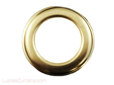 "Curtain Drapery Gold Metal Grommets Eyelet #12 Inner Diameter 1-9/16"" Pack of 10"