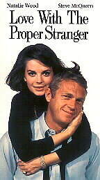 Love With the Proper Stranger [VHS] by Natalie Wood, Steve McQueen, Edie Adams,