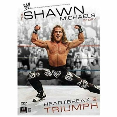 WWE - The Shawn Michaels Story: Heartbreak & Triumph, Acceptable DVD, Shawn Mich