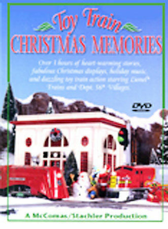 Toy Train Christmas Memories, Good DVD, various trains, Joseph Stachler, Tom McC
