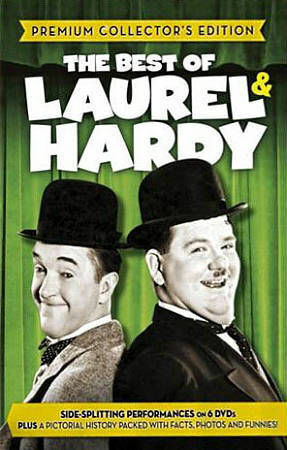 The Best of Laurel & Hardy (Premium Collectors Edition), Good DVD, Oliver Hardy,