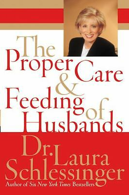The Proper Care and Feeding of Husbands, Laura Schlessinger, Good Book